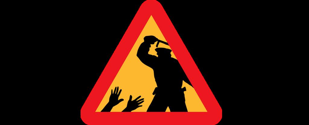 Полицейский произвол – применение силы полицией